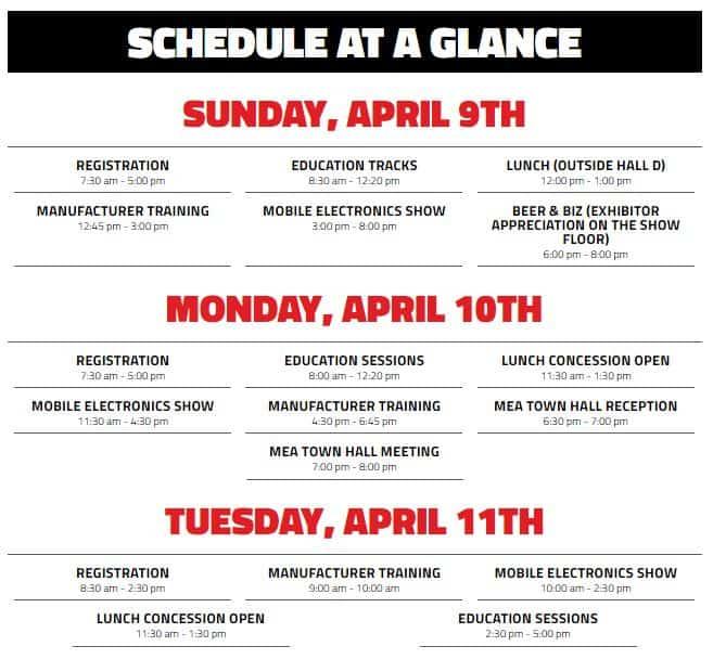 2017 Knowledge Fest Schedule
