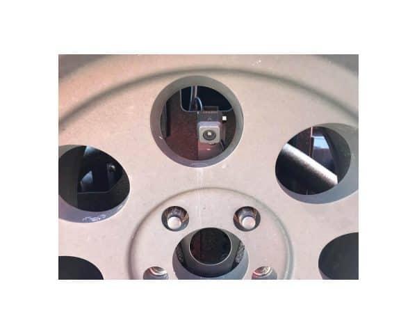JB01 -- Jeep Spare Tire Backup Camera Bracket 3