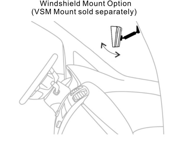 M7020P -- 7-inch Stand Alone Backup Monitor 4