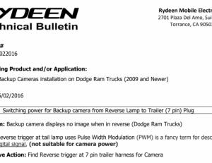 Tech Bulletin