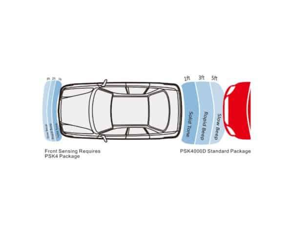 PSR4000 -- Digital Ultrasonic Parking Sensors 1