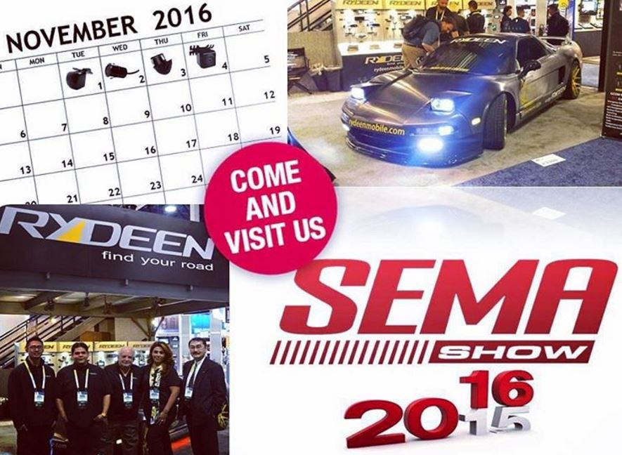 Rydeen Mobile Electronics made it to #Sema2016!!! 4