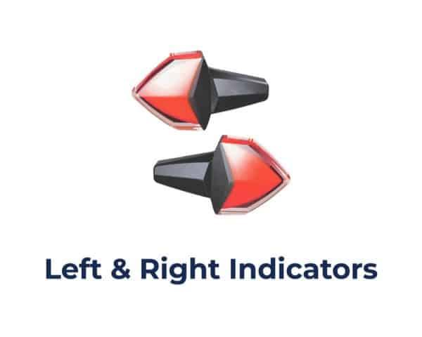 VS-95A013 -- Motorcycle Blindspot Detection System 2