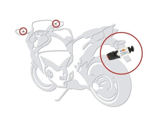 VS-95A013 -- Motorcycle Blindspot Detection System 3